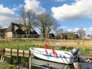 Blick von der Bootsstelle aus