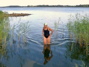 Schwimmen in der Schlei