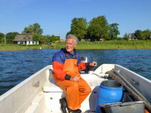 Beim Fischfang